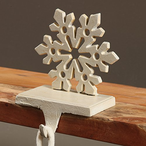 Snowflake Stocking Holder - Cast Iron by My Swanky Home (Image #1)