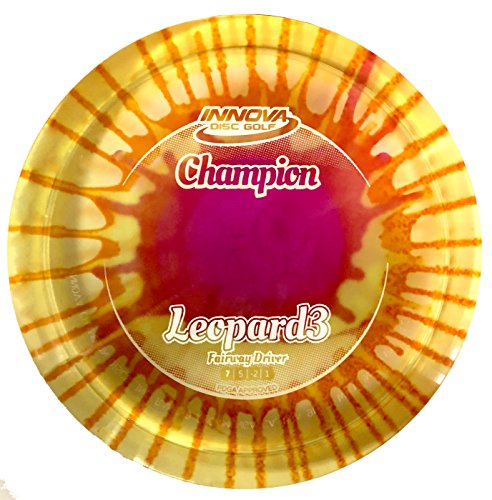 (Innova I-Dye Champion Leopard3 Fairway Disc Golf Driver (Colors and Designs Will Vary) (170-175g))