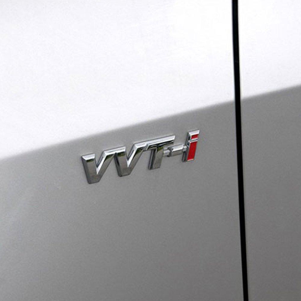 3D Metal VVT-I Car Side Fender Rear Trunk Emblem Badge Sticker Decals for Toyota Camry Lexus Is Es Rx by BENBW (Image #5)