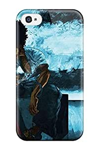 6323997K201652120 afro samurai anime game Anime Pop Culture Hard Plastic iPhone 5/5s cases