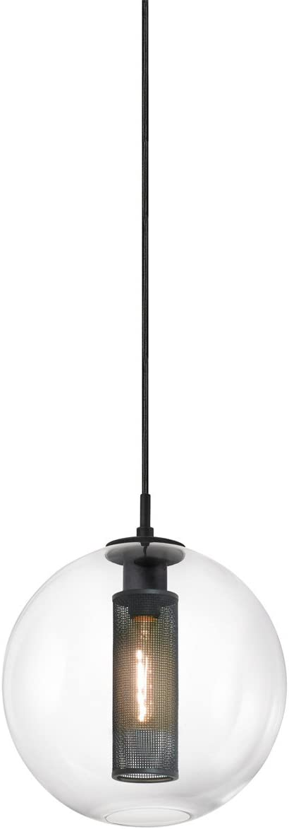 Sonneman 4933-97 One Light Pendant, Black
