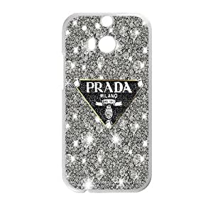Customized Unique Phone Case Prada For HTC One M8 NP4K02247