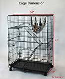 "Homey Pet - 3 Tiers 30"" Cat Cage with"