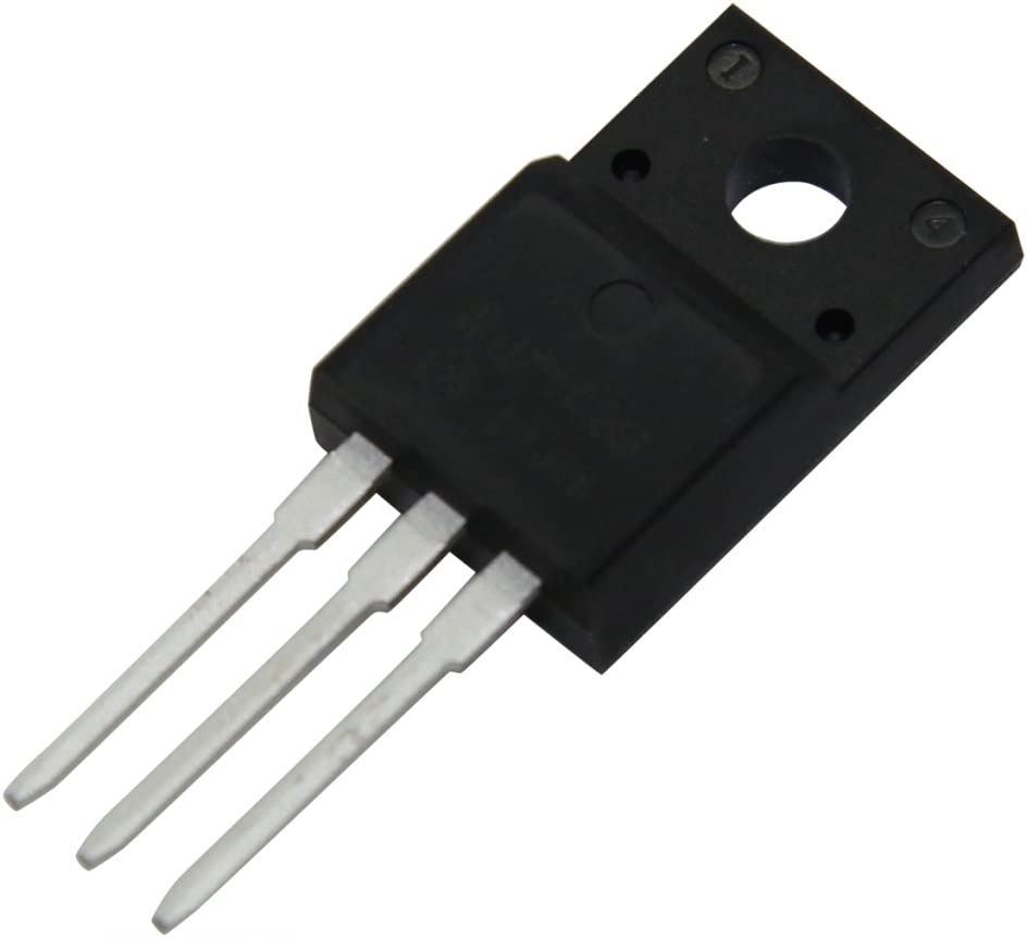 2x FQPF3N80C Transistor N-MOSFET unipolar 800V 1.9A 39W TO220F QFET/®