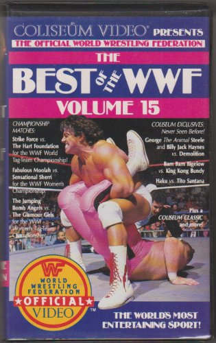 Best of WWF Vol. 15 [VHS] (Best Of Wwf Volume 15)