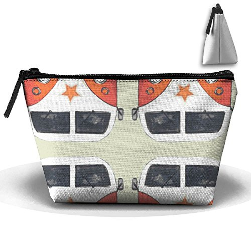 Star Camper Cosmetic Bag,Portable Travel Makeup Case Pouch Toiletry Wash Organizer.