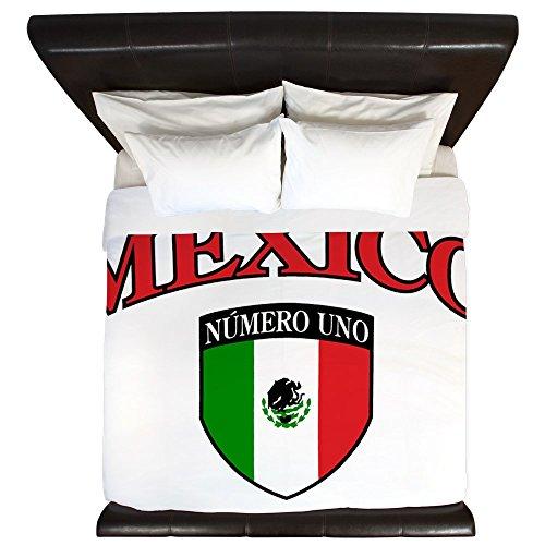 Cheap King Duvet Cover Mexico Numero Uno Mexican Flag