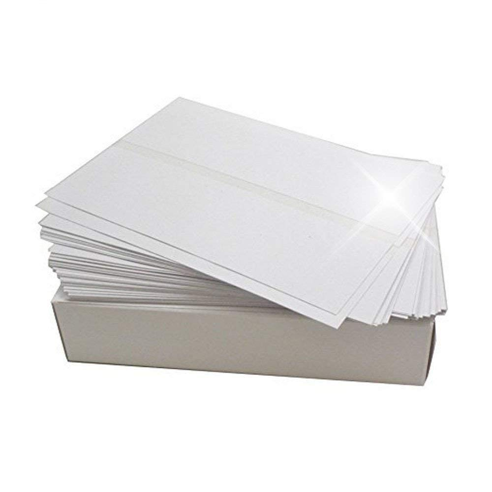 Bright White Box of 300 Double Postage Meter Tapes 5 1/4 x 3 1/2 with Perf Compares to Pitney Bowes 612-0, 612-7, 612-9 & 620-9 Postage Meter Tape Two Labels Per Sheet by Preferred Postage Supplies