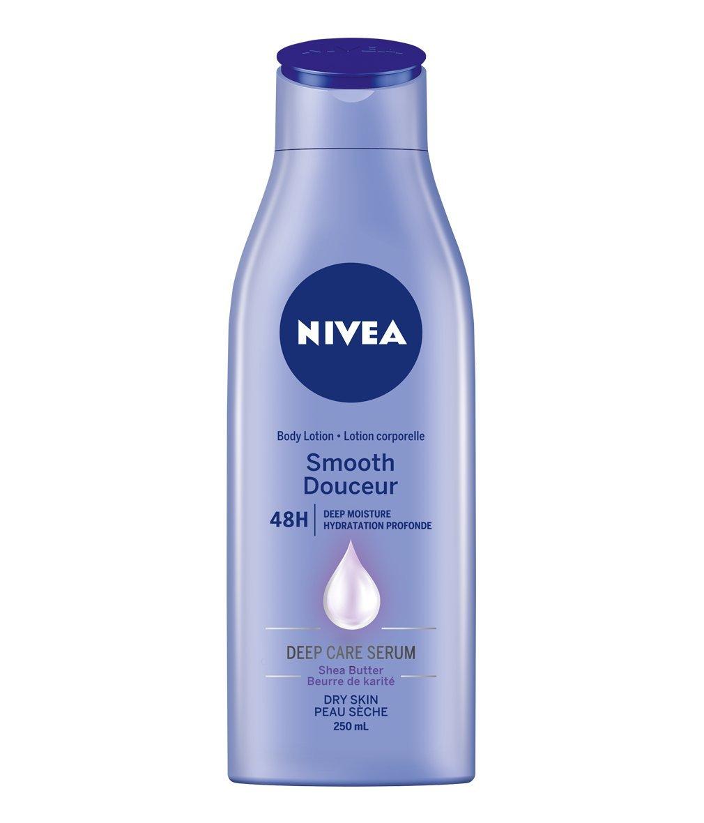 NIVEA Nourishing 48H Deep Moisture Body Milk for Dry to Very Dry Skin, 625 mL 056594005334