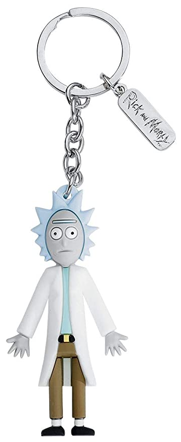 Rick and Morty Rick Llavero Colgante: Amazon.es: Equipaje