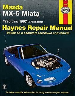 amazon com mazda mx 5 miata chilton repair manual 1990 2014 rh amazon com Mazda 3 Manual Mazda 3 Manual