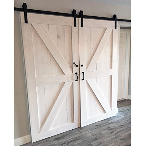 Double Z British Brace Sliding Barn Door by Laelee Designs