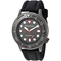 Freestyle Ballistic Diver Black/Red Unisex Watch 10024401