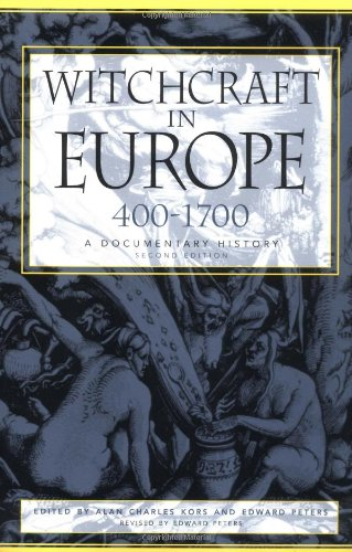 Witchcraft in Europe, 400-1700: A Documentary History (Middle Ages - Uk Kors