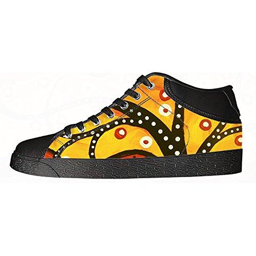 I Delle Ginnastica Tela Alto In Shoes Dipinto Lacci Men's Custom Le Albero Da Arte Di Scarpe Canvas Sopra Yw8Z4fx