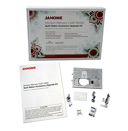 Janome Memory Craft 15000 Quilt Maker Accessory Upgrade Kit
