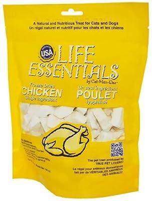 Life Essentials Freeze Dried Chicken 5 oz from Cat-Man-Doo