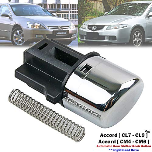 (Automatic Gear Shifter Shift Knob Button For Honda Accord SDA CL7 CL9 2003-2005)
