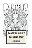 Pantera Adult Coloring Book: Texas Groov...