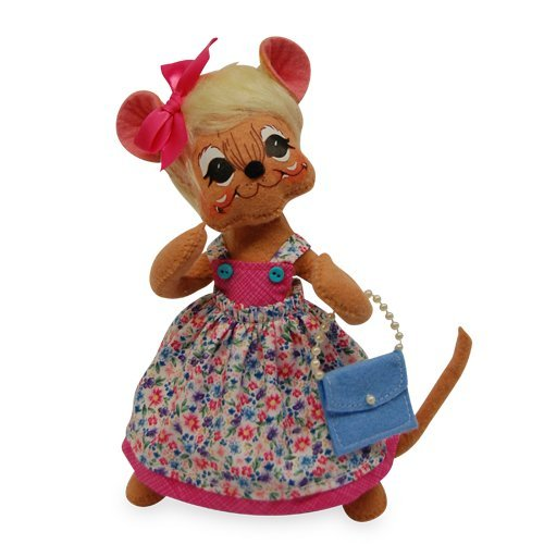 - Annalee - 8in Springtime Girl Mouse