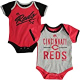 Majestic Cincinnati Reds Baby/Infant Descendant 2 Piece Creeper Set