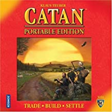 Mayfair Games MFG3101 Settlers of Catan, Portable Edition