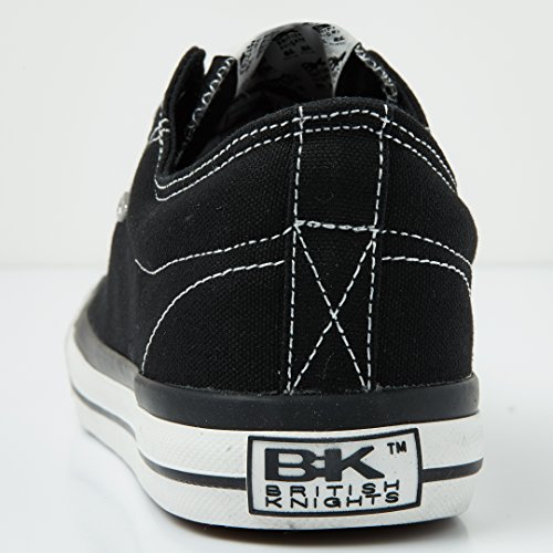 Sneaker Halbschuh LO Master Knights British Herren Schwarz nHqZ6807