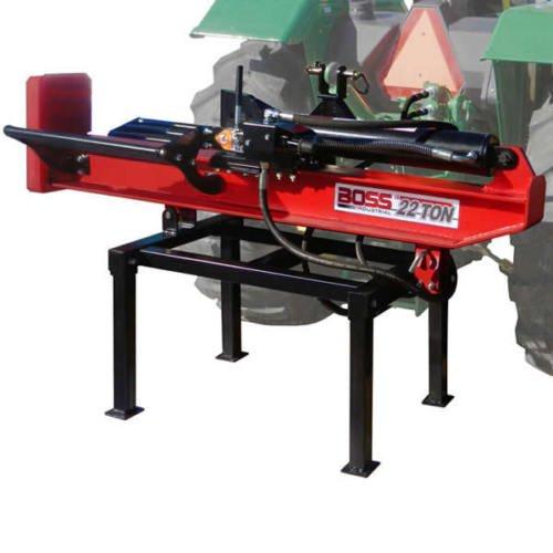 3Pt Horizontal/Vertical Log Splitter, 22 Ton