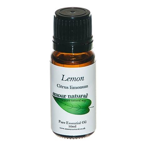 Amour natural limón aceite esencial puro 10 ml