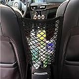 Graven - Organizador para asiento de coche con malla elástica para Volkswagen VW Gol Plus Eos Scirocco Beetle