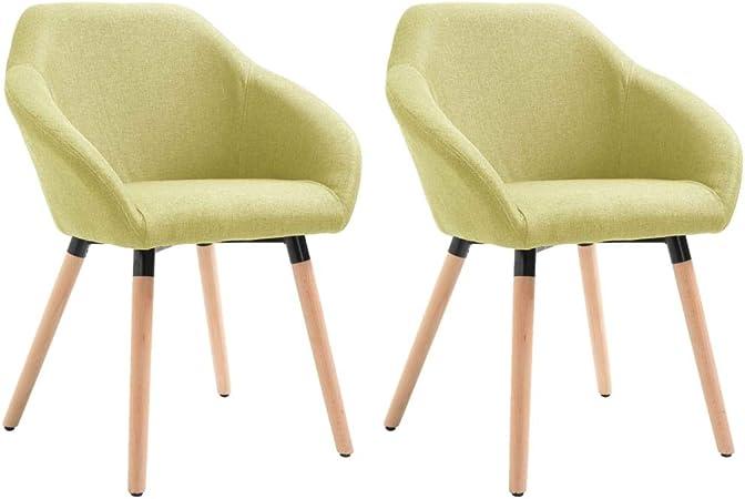 vidaXL Set di 2 sedie per Sala da Pranzo e Cucina, in