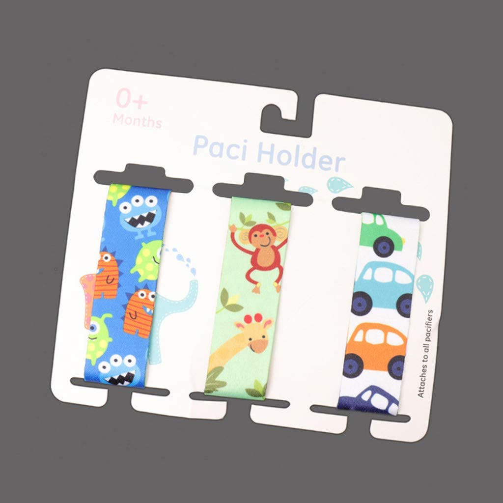 QR-BHRTY Baby Pacifier Clips Nipple Soother Teether Leash Holder Anti Dropped Rope Chain Lollipop
