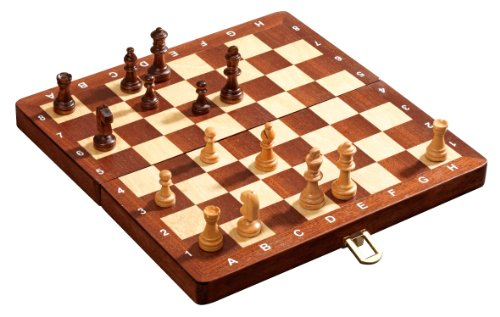 (Philos 30 mm Field Magnetic De Luxe Chess Set by)