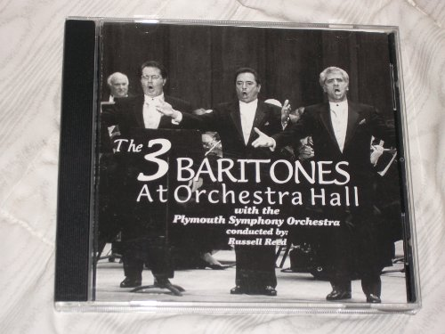The Three Baritones At Orchestra Hall with the Plymouth Symphony - Plymouth Hall