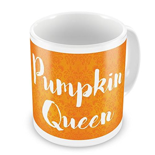 Coffee Mug Pumpkin Queen Halloween Orange Wallpaper - NEONBLOND -