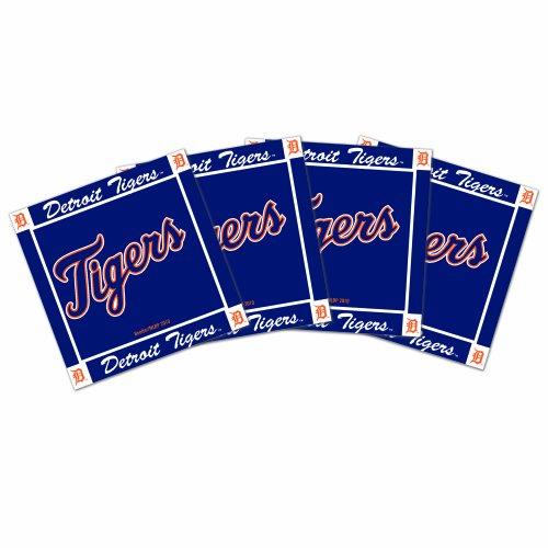 - MLB Detroit Tigers 4pk Ceramic Coasters
