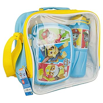 STOR SET BTS 3 PCS BOTELLA SPORT EASY 530 ML Y SANDWICHERA RECTANGULAR EN BOLSA AISLANTE