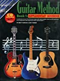 img - for Guitar Method Book 1 Supplementary Songbook: With CD (Progressive Young Beginners) book / textbook / text book