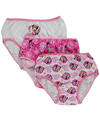 Disney Minnie GirlsBow Adjusted Panties