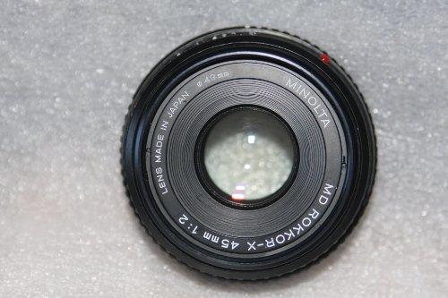 Minolta Rokkor-x 45mm 1:2 Manual Focus ()