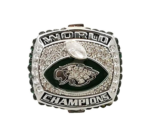 2017-2018 Philadelphia Eagles Football Super Bowl World Foles and Wentz Championship Ring WITHOU Wooden Box(WENTZ, 11) (2018 Super Bowl Ring)