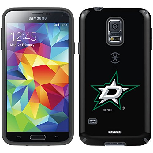 (Coveroo CandyShell Cell Phone Case for Samsung Galaxy S5 - Retail Packaging - Dallas Stars Primary Logo)