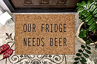 product image for Funny BEER Coir Doormat Personalized Coir Doormat BACHELOR PAD Welcome Doormat Front Door Mat Funny College Doormat Door Mat Housewarming Gift Cute Doormat Gag Gift Outdoor/Indoor Mat