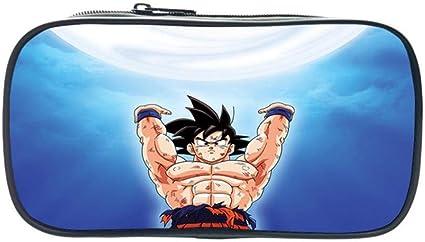 Maneray Pencil Case Anime Dragon Ball Goku Cosplay Bolsas de Papelería Estuche para lápices Estudiantes Plumier Caso Stationery Pluma Bag: Amazon.es: Iluminación