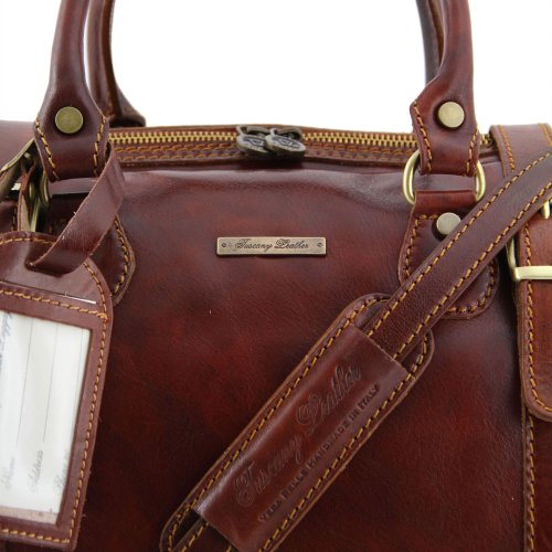Tuscany Leather, Borsa a spalla uomo Marrone marrone