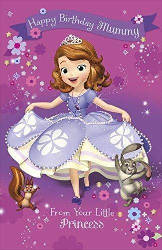 Feliz cumpleaños Mami (Disney) Tarjeta de cumpleaños: Amazon ...