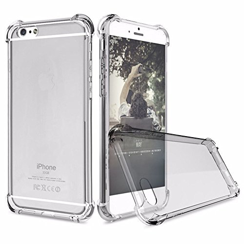 iPhone 6S Case, iPhone 6 Case, UTHMNE Crystal Clear Shock Absorption Technology...