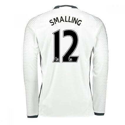 8706fb897 2016 - 17 Man United Tercera Camiseta (Smalling 12)  Amazon.es ...