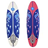 GYMAX 6FT/182CM SUP Surfing Board stand Up Surfboard Beginner Soft Board Kids Children Adults