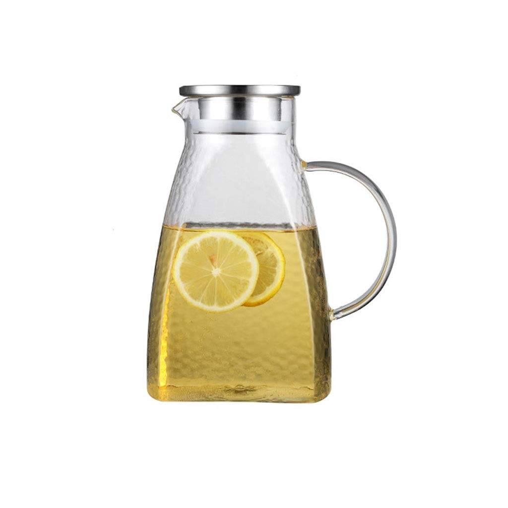 Household hammer glass cold water bottle explosion-proof high temperature cool white open kettle CHAJU by CHAJU